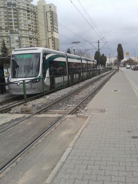 Konya'ya gelen yeni tramvay yolcu taşımaya başladı 38