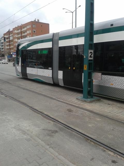 Konya'ya gelen yeni tramvay yolcu taşımaya başladı 39