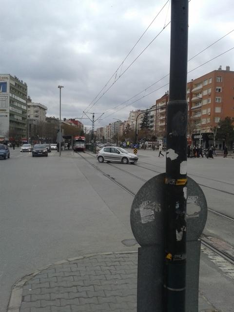 Konya'ya gelen yeni tramvay yolcu taşımaya başladı 44