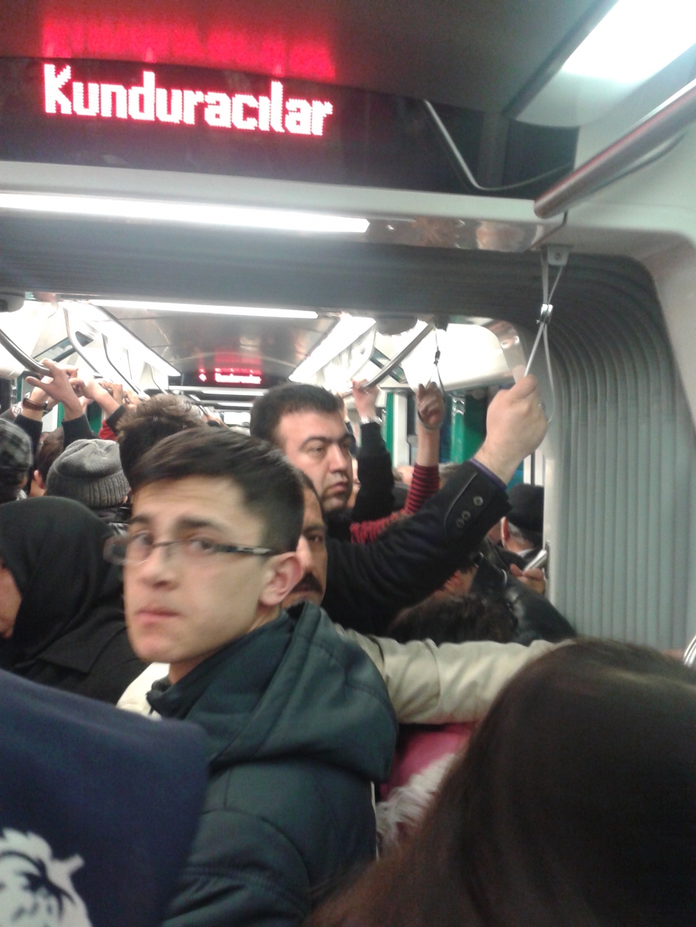 Konya'ya gelen yeni tramvay yolcu taşımaya başladı 9
