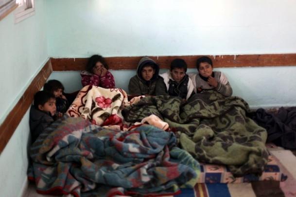 """Gazzelilerin """"soğukla"""" mücadelesi 10"""