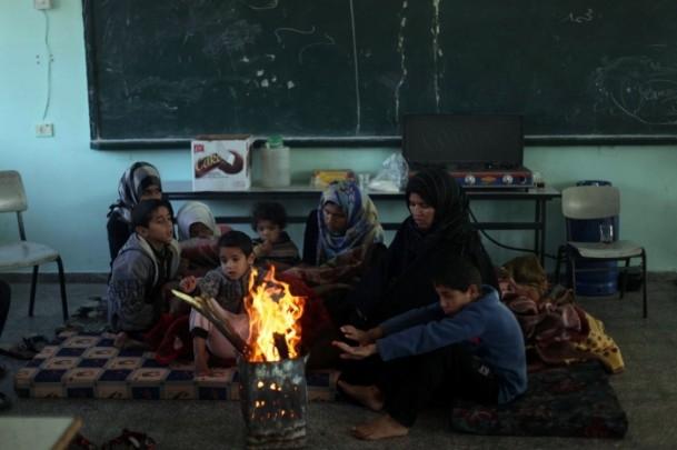 """Gazzelilerin """"soğukla"""" mücadelesi 6"""