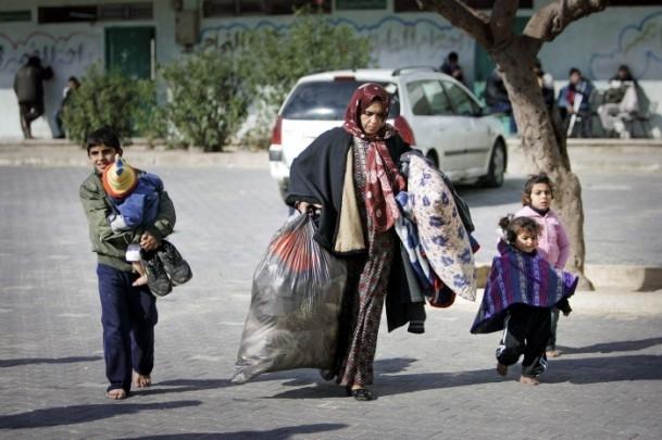 """Gazzelilerin """"soğukla"""" mücadelesi 8"""
