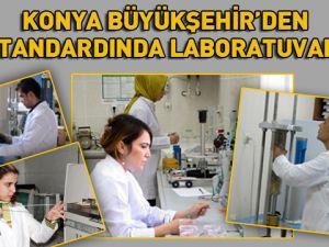 Büyükşehir'den AB Standardında Laboratuvarlar