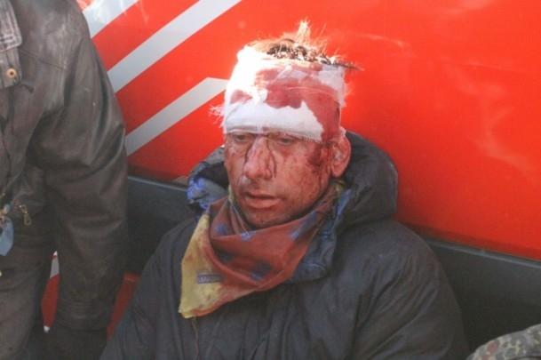 Protestocular 67 emniyet görevlisini rehin aldı 7