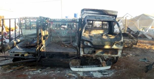 Es-Selame Sınır Kapısı'nda patlama 15