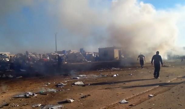 Es-Selame Sınır Kapısı'nda patlama 2