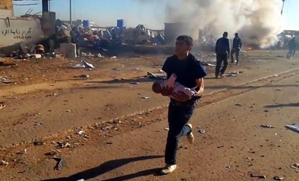 Es-Selame Sınır Kapısı'nda patlama 3