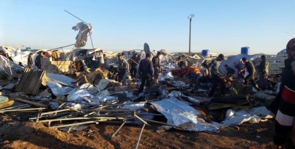 Es-Selame Sınır Kapısı'nda patlama 6