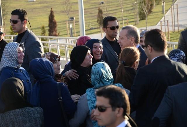 Başbakan Bilim Merkezini gezdi ve İstanbul'a gitti 2