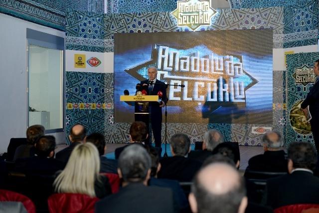 Anadolu'da Selçuklu Belgeseli'nin tanıtımı yapıldı 13