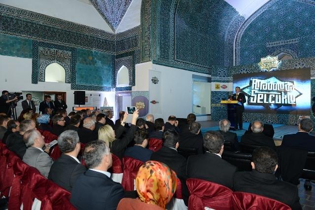Anadolu'da Selçuklu Belgeseli'nin tanıtımı yapıldı 8
