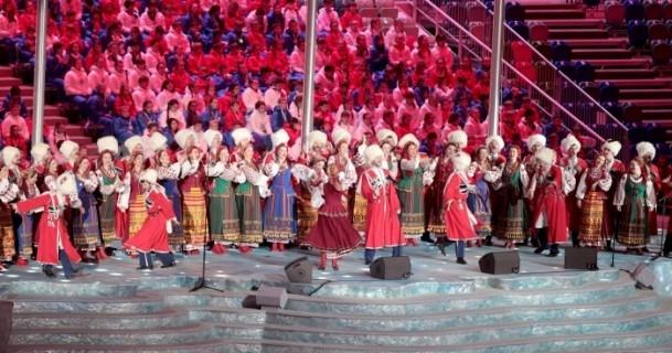Soçi'de görkemli kapanış töreni 19