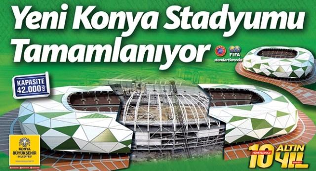 Konya yeni stadyumuna kavuşuyor 7