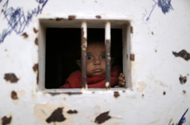 Özgürlüklerini cezaevinde arayan çocuklar 3