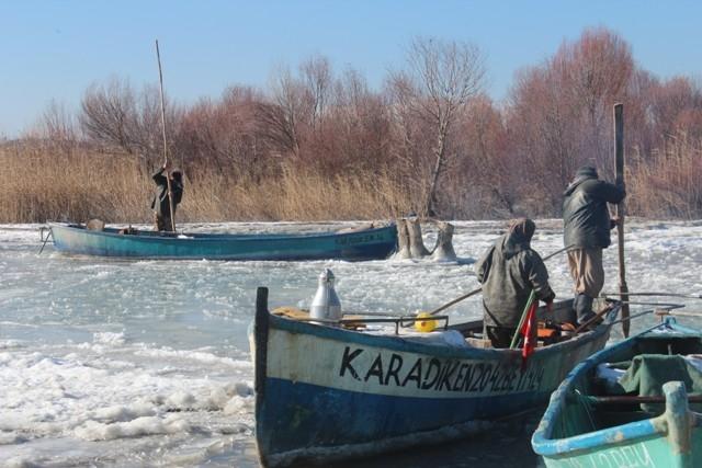 Beyşehir buz tutuyor 10