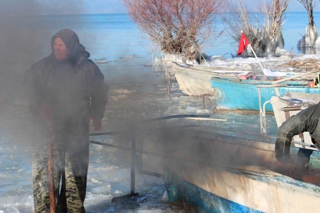 Beyşehir buz tutuyor 3