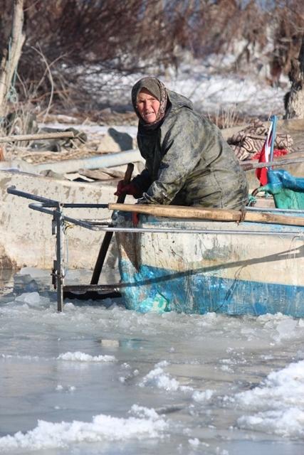 Beyşehir buz tutuyor 7