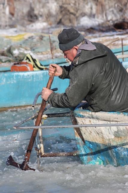 Beyşehir buz tutuyor 9