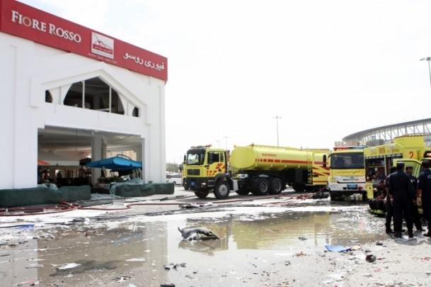 Katar'daki Türk restoranında patlama 1