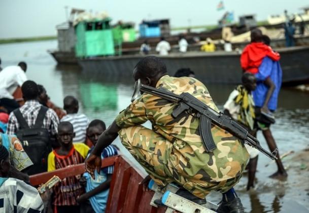 Güney Sudan'da iç çatışmaları 1