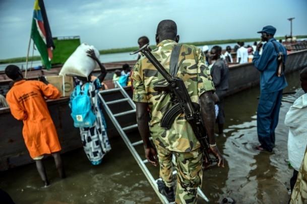Güney Sudan'da iç çatışmaları 4