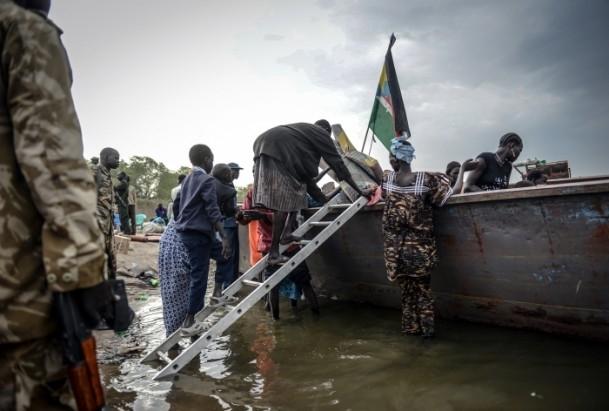 Güney Sudan'da iç çatışmaları 7