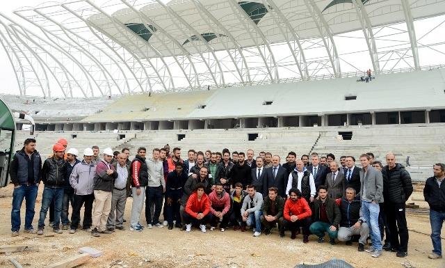 Konya'ya Yakışan Bir Stadyum Yapılıyor 10