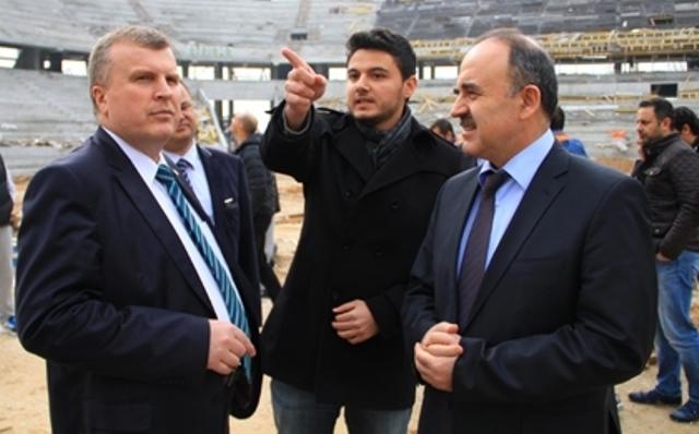 Konya'ya Yakışan Bir Stadyum Yapılıyor 12