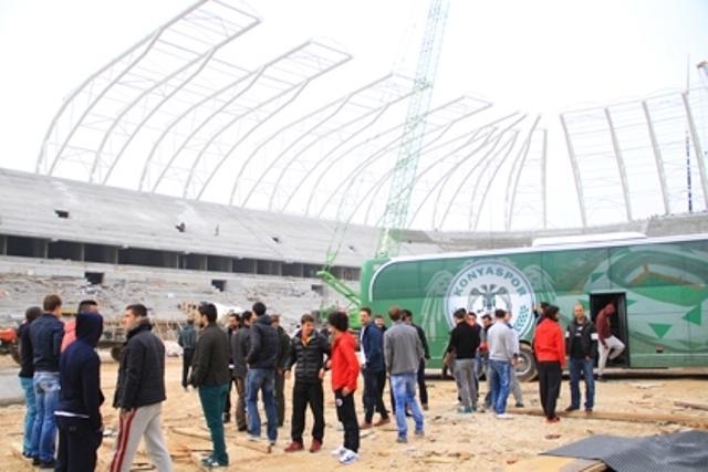 Konya'ya Yakışan Bir Stadyum Yapılıyor 14