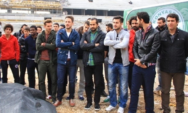 Konya'ya Yakışan Bir Stadyum Yapılıyor 16