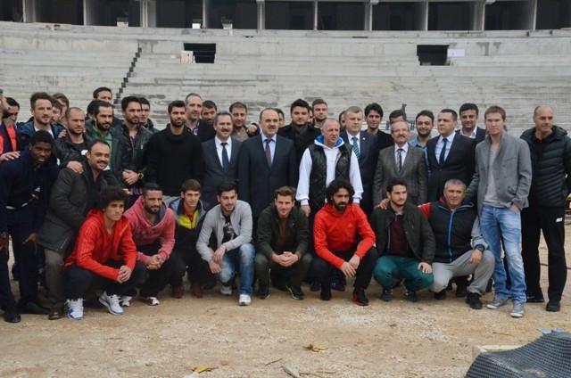Konya'ya Yakışan Bir Stadyum Yapılıyor 2