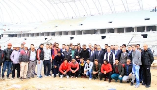 Konya'ya Yakışan Bir Stadyum Yapılıyor 27