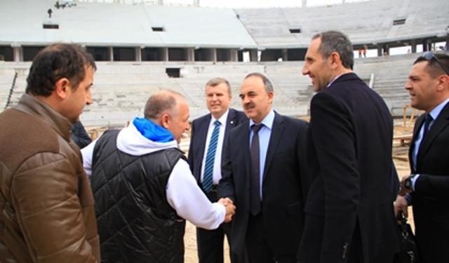 Konya'ya Yakışan Bir Stadyum Yapılıyor 29