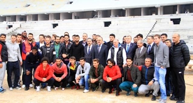 Konya'ya Yakışan Bir Stadyum Yapılıyor 30