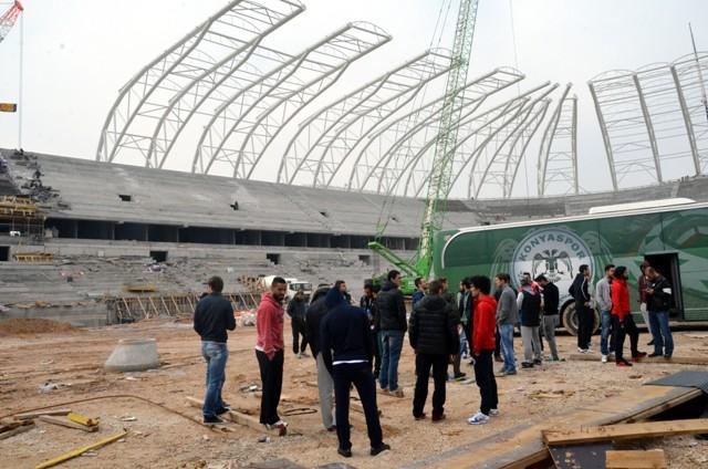 Konya'ya Yakışan Bir Stadyum Yapılıyor 6