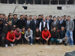 Konya'ya Yakışan Bir Stadyum Yapılıyor