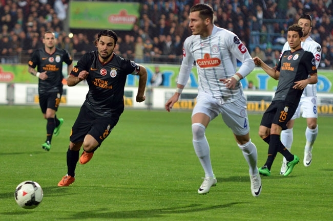 Çaykur Rizespor 1 - Galatasaray 1 4