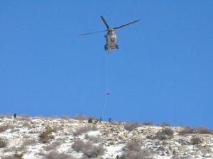 Askeri helikopterle hastaneye götürülürken öldü