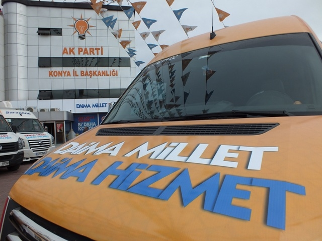 AK Parti dualar eşliğinde hedefi açıkladı: 32'de 32 12