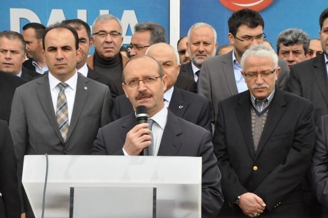 AK Parti dualar eşliğinde hedefi açıkladı: 32'de 32 14