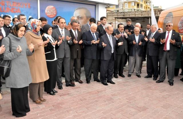 AK Parti dualar eşliğinde hedefi açıkladı: 32'de 32 15