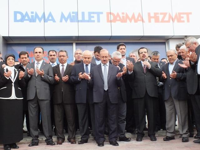 AK Parti dualar eşliğinde hedefi açıkladı: 32'de 32 17