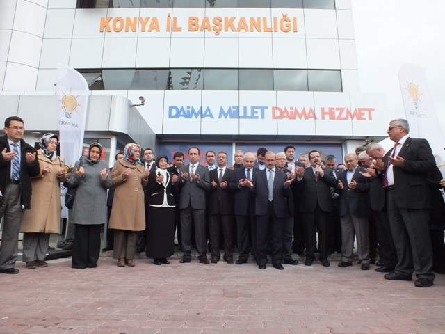 AK Parti dualar eşliğinde hedefi açıkladı: 32'de 32 20