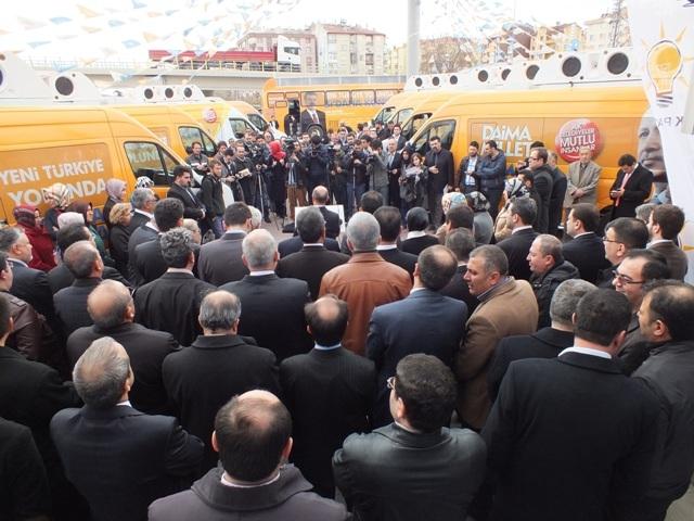 AK Parti dualar eşliğinde hedefi açıkladı: 32'de 32 3