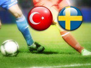 Türkiye 2 - İsveç 1