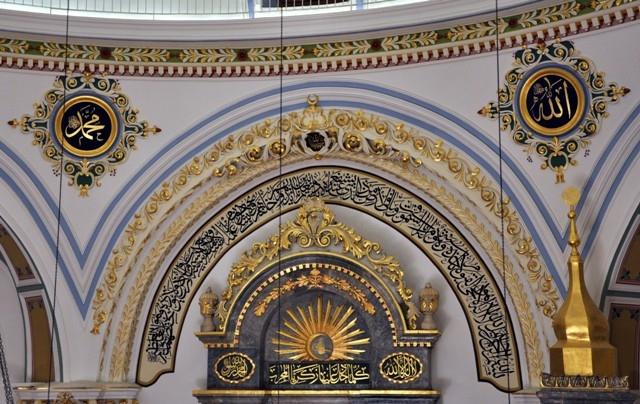 """Konya'nın barok camisi """"Aziziye"""" ibadete açıldı 11"""