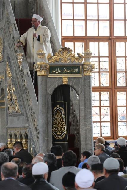 """Konya'nın barok camisi """"Aziziye"""" ibadete açıldı 23"""