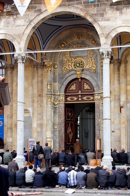 """Konya'nın barok camisi """"Aziziye"""" ibadete açıldı 27"""