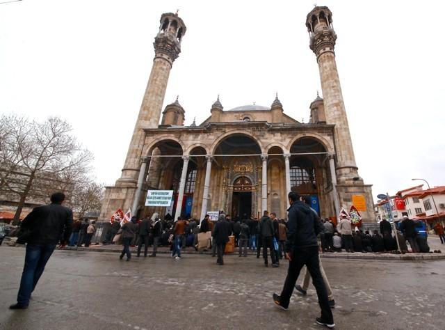 """Konya'nın barok camisi """"Aziziye"""" ibadete açıldı 28"""